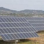 Montagem de placas solares