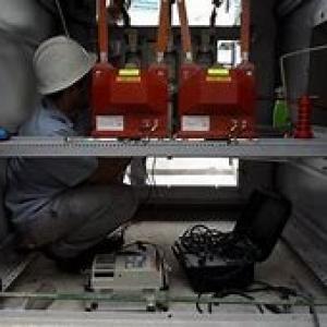 Manutenção de cabines primárias